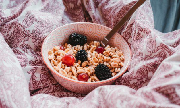 WFH Healthy Snack Ideas!