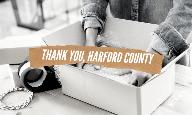Thank You, Harford County!