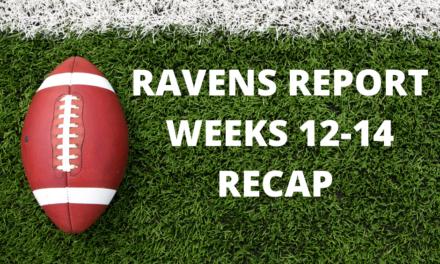 Ravens Report: Weeks 12-14 Recaps
