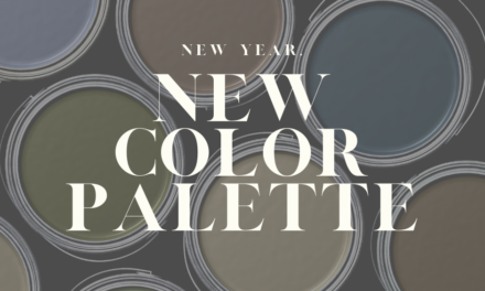 New Year, New Color Palette
