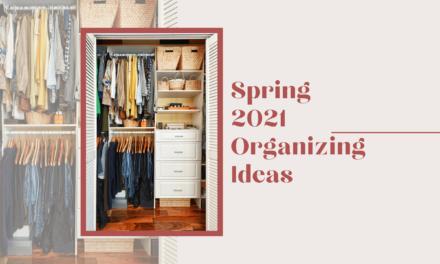 Spring 2021 Organizing Ideas