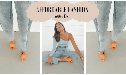 Affordable Fashion – June Fit
