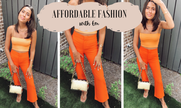 Affordable Fashion – July/August Fit
